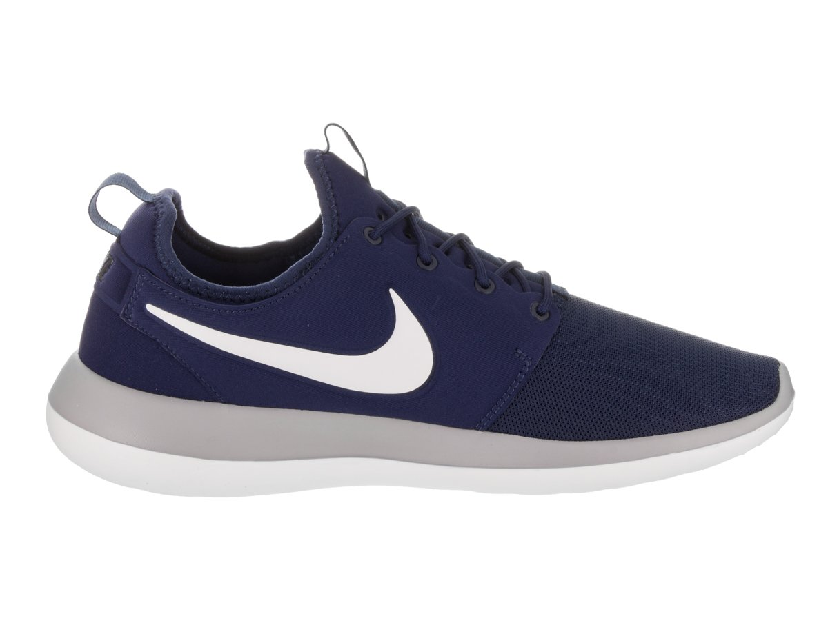 NIKE Men's Roshe Two Running Shoe B008KKB5H4 8.5 D(M) US|Binary Blue/White-wolf Grey