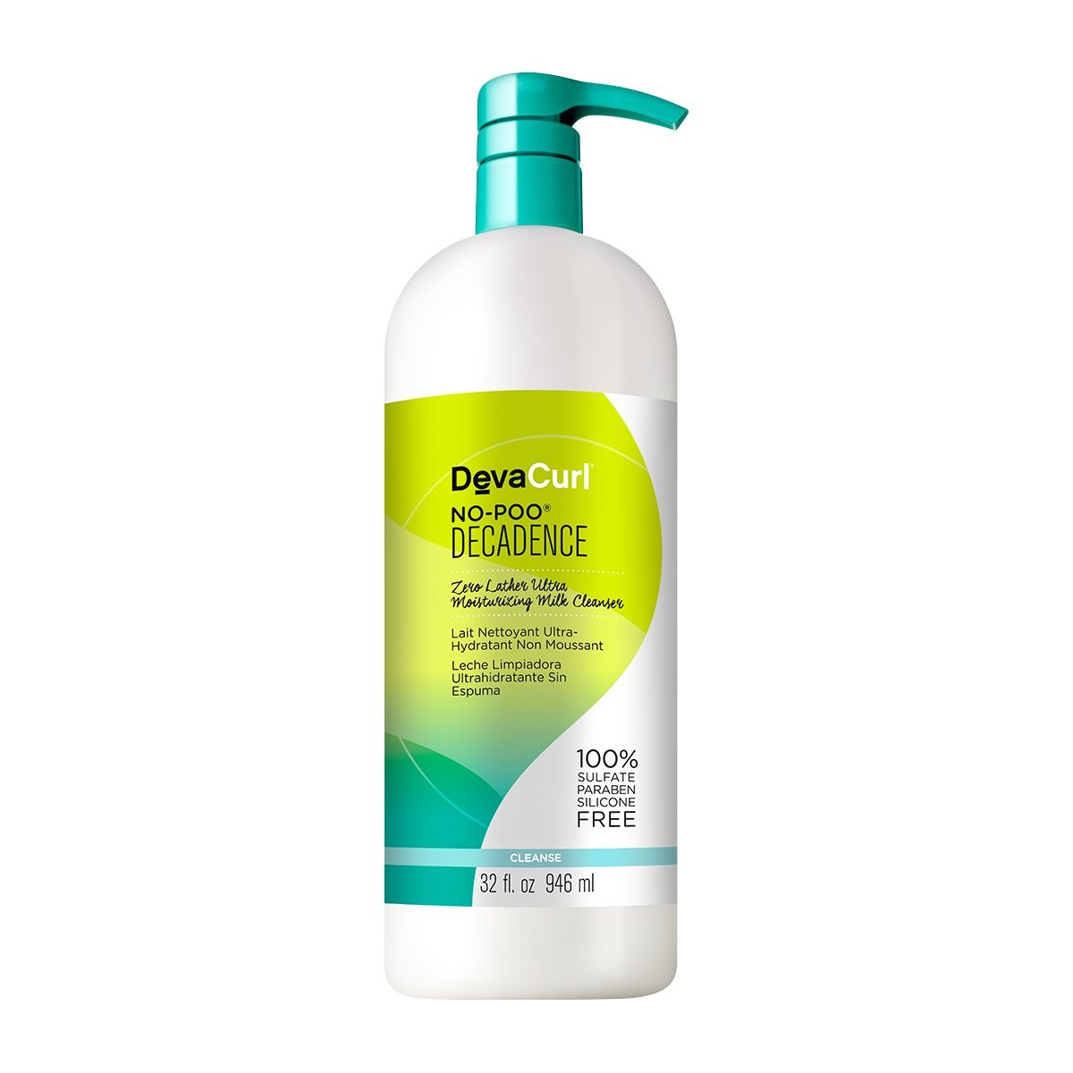 Devacurl No-Poo Decadence Milk Cleanser, 32oz