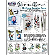 ScrapSMART - Nursery Rhymes for Adam Childrens Book - Software Collection - Microsoft Word, Jpeg, PDF files (CDNRBA97)