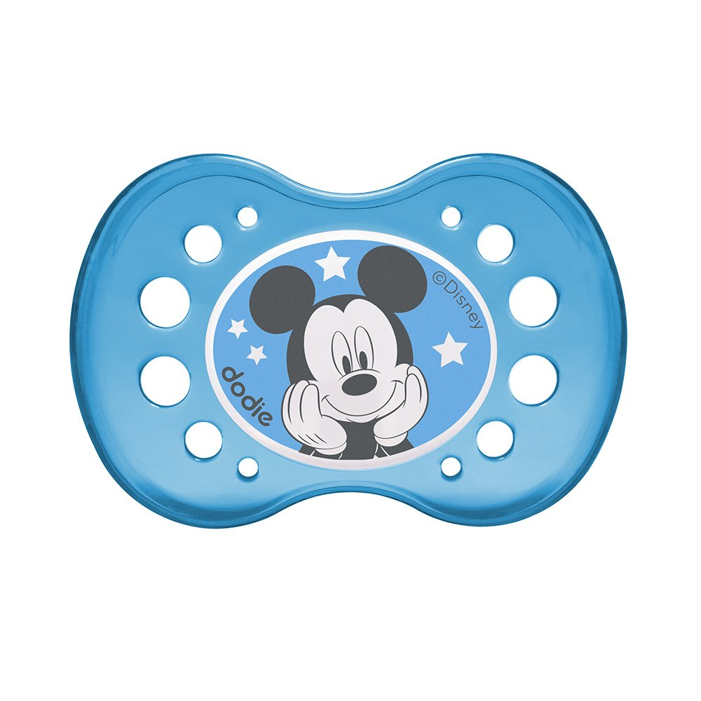 Mois dodie Sucette Anatomique Duo Mickey Nuit A75 18