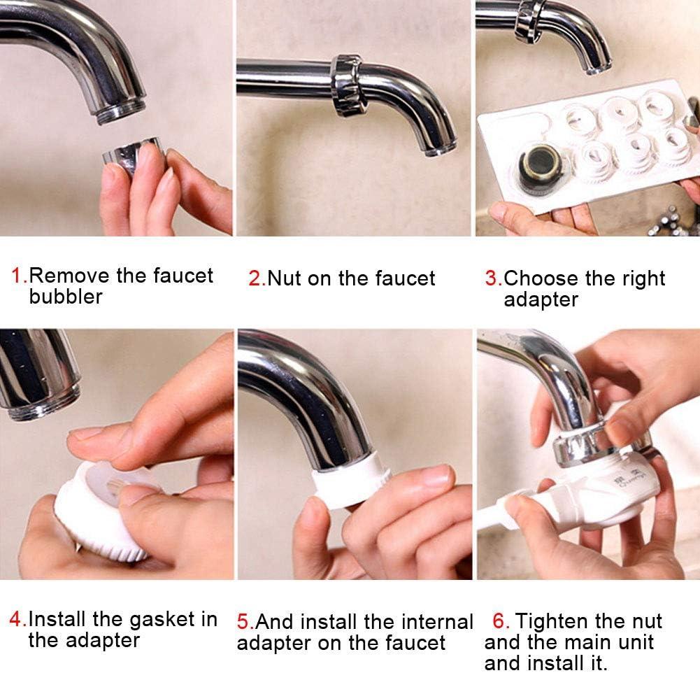 Musitelying JN-UF-05 Household Kitchen Ultra-Filtration Faucet Water Purifier Modular Filter Convenient Water Filter Pink