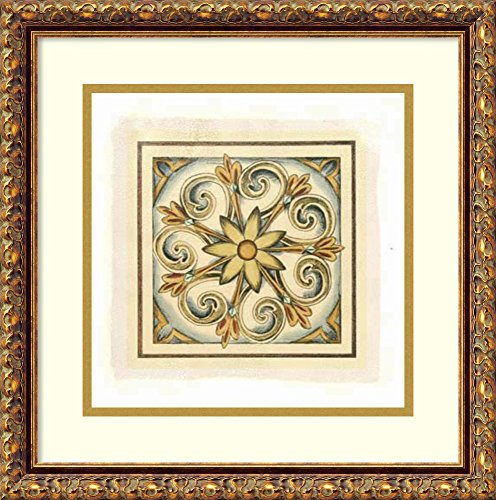 Crackled Cloisonne Tile - 5