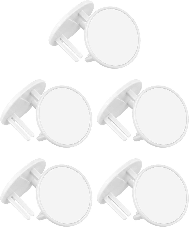 6piezas Kit Seguridad Cubre Enchufes blanco-01 Norma del UK YOFASEN Blanco Protectores Enchufes para Bebes Tapa Enchufes para Ni/ños
