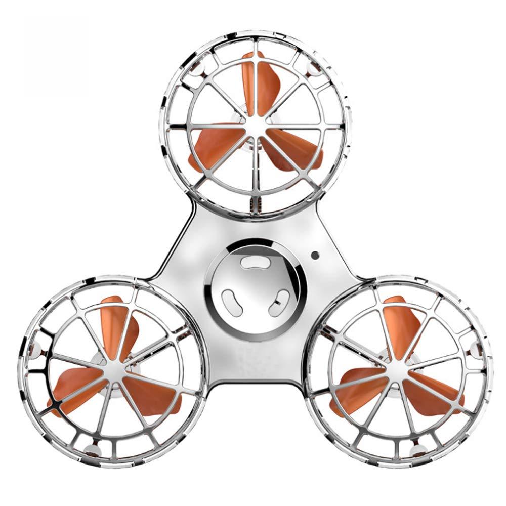 Polpastrello Elettrico Migliorato Versione Ricarica LED illuminante Anti-Stress Volante Antenna giroscopico Girevole Giocattolo Superiore a Spirale