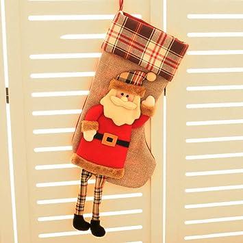 Christmas Utenciles Decoraciones De Navidad Grandes Muñecos De Nieve De Navidad Calcetines Niños Calcetines De Navidad