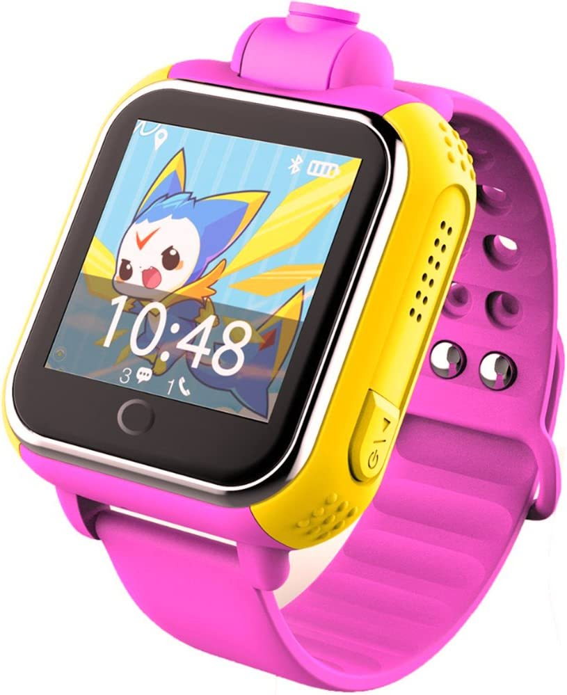 Amazon.com: 3G GPS Tracker Kids Smart Watch TURNMEON ...