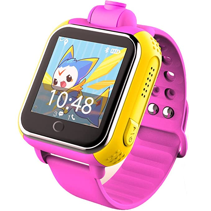 TURNMEON Q8 Kids smart watch SmartWatch Para Niños Reloj Inteligente Infantil Pulsera Localizador base on Android 4.2 WIFI,GPS, LBS, SOS Llamada SIM ...
