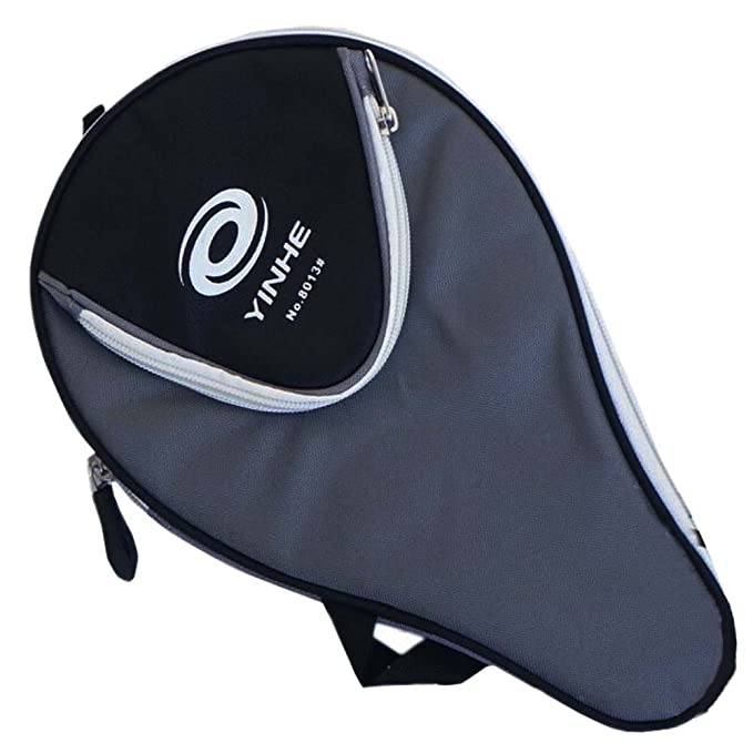 Great Gift Table Tennis Racket Cover Ping Pong Bat Bag Random Color Nylon  Packet 80ece0c376113
