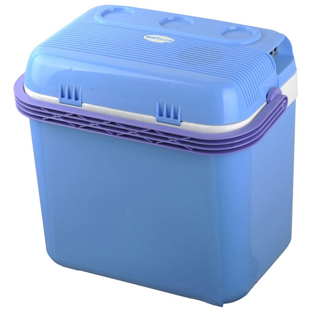 LIQICAI 32L Tragbar Elektrische Kühlbox Startseite Mini Kühlschrank Wärmekühlen Doppelt Verwenden/12V DC (Auto)/220V AC (Haus)/60W