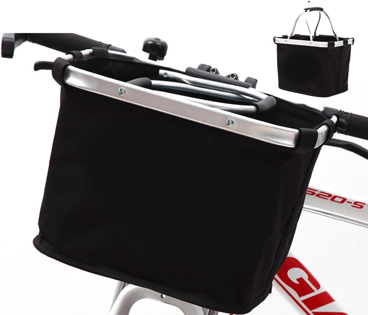 DaMohony Cestino per Bicicletta Cestino per Bicicletta Manubrio Cestino per Bicicletta Pieghevole