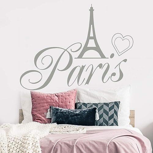Amazon.com: Paris Wall Decals - France Decal - Paris Skyline ...