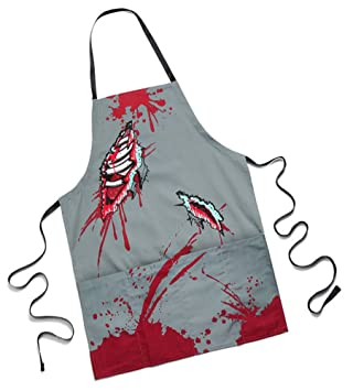 Amazon.com: The Zombie Apron: For The Civilized Zombie Chef ...