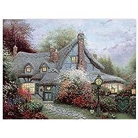Ceaco Thomas Kinkade The Special Edition Metallic Foil Sweetheart Cottage Puzzle (750 Piece)