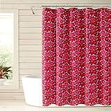 Marimekko Mini Unikko Shower Curtain, 72 x 72, Red
