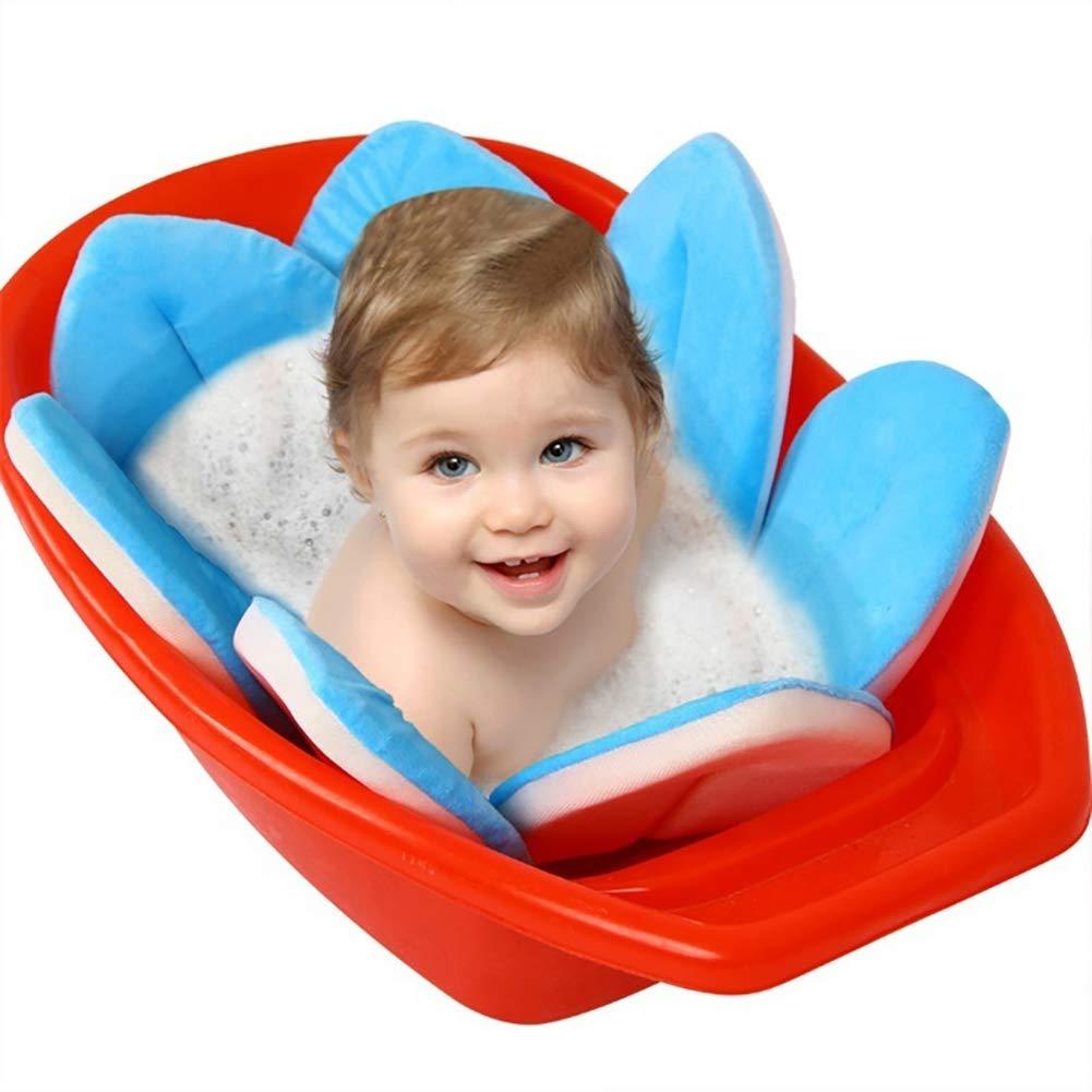 Comtervi Blume Baby Badematte Neugeborene Badewanne Sitze Tragbare Badewanne Faltpolster Infant Bad Kissen 80 80cm