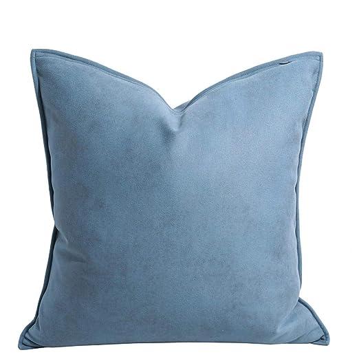 nuobaby - Cojín Decorativo (50 x 30 cm), Color Azul: Amazon ...