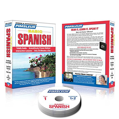Pimsleur Spanish Basic Course - Level 1 Lessons 1-10 CD