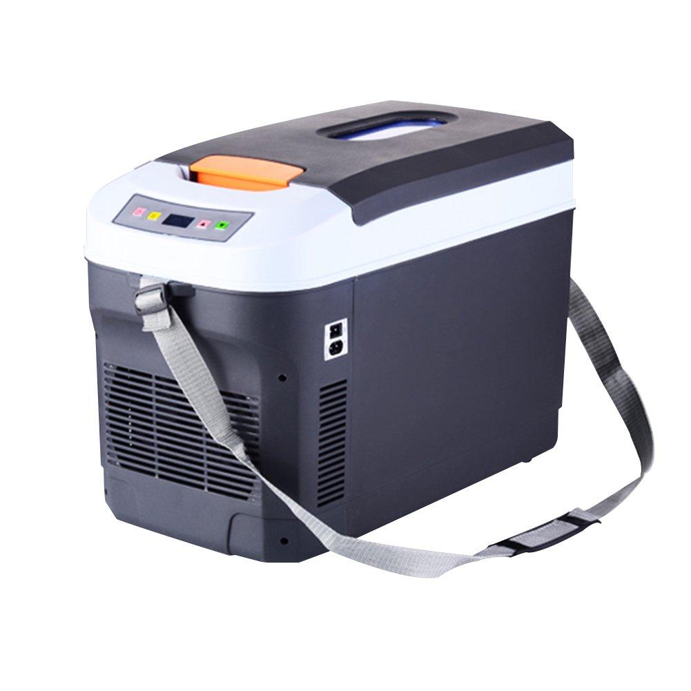 LIQICAI Mini Kühlschrank 25L Camping Party Lunchbox 12V 230V Tragbarer Tragegurt