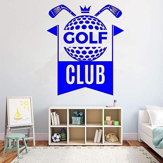 yaoxingfu Golf Club DIY Wall Decal Golf Sport Sticker Quotes ...