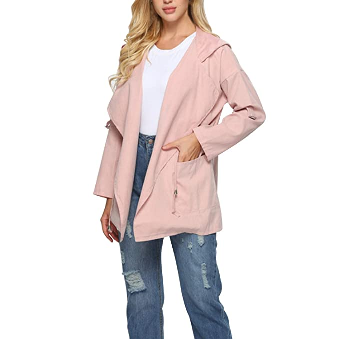 81c8adbcc6c Amazon.com  Cosics Pink Coat for Women