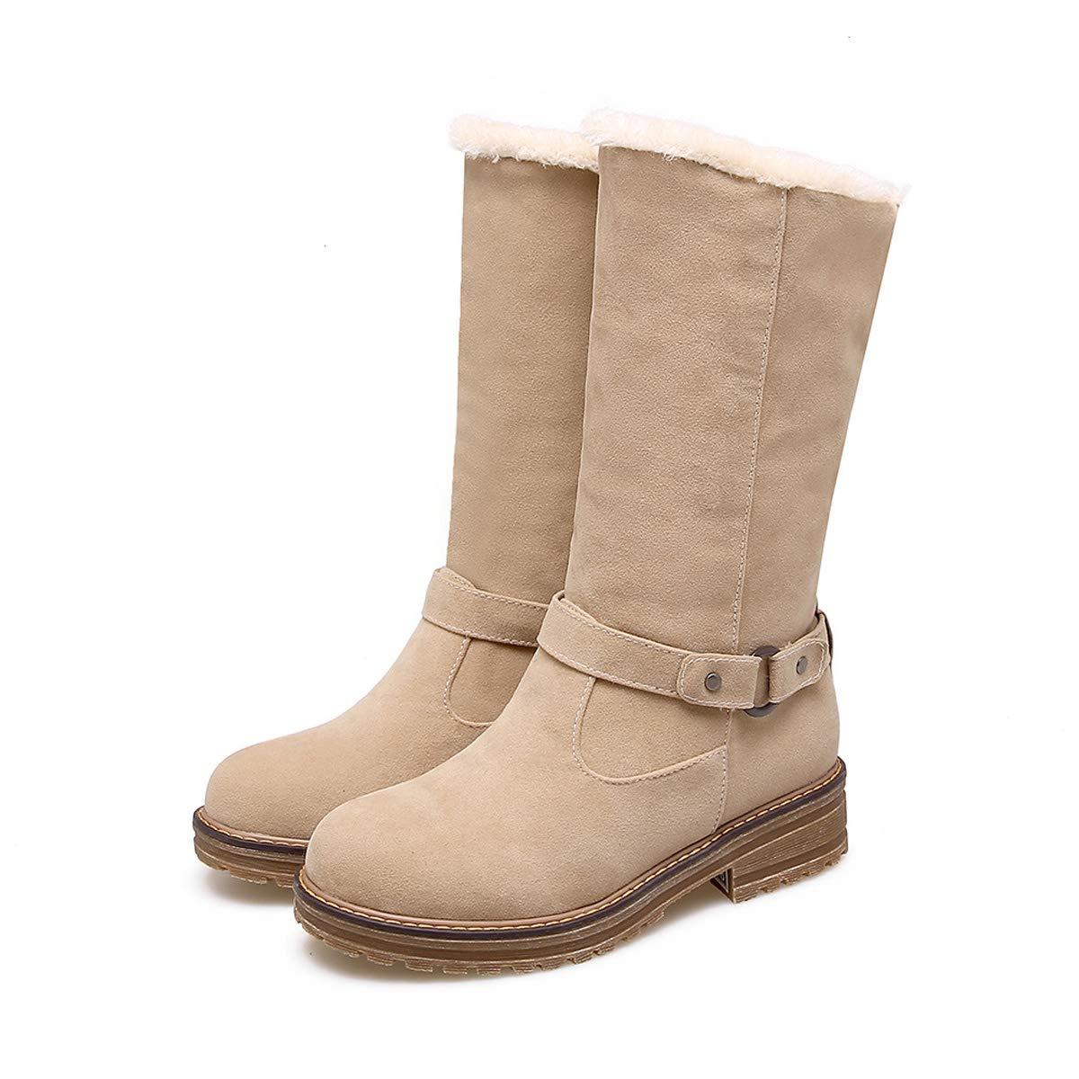 DANDANJIE Schnee Stiefel damen Winter Wasserdichte warme Stiefel C Outdoor Walking Rutschfeste Schuhe C Stiefel 41EU 45d07d