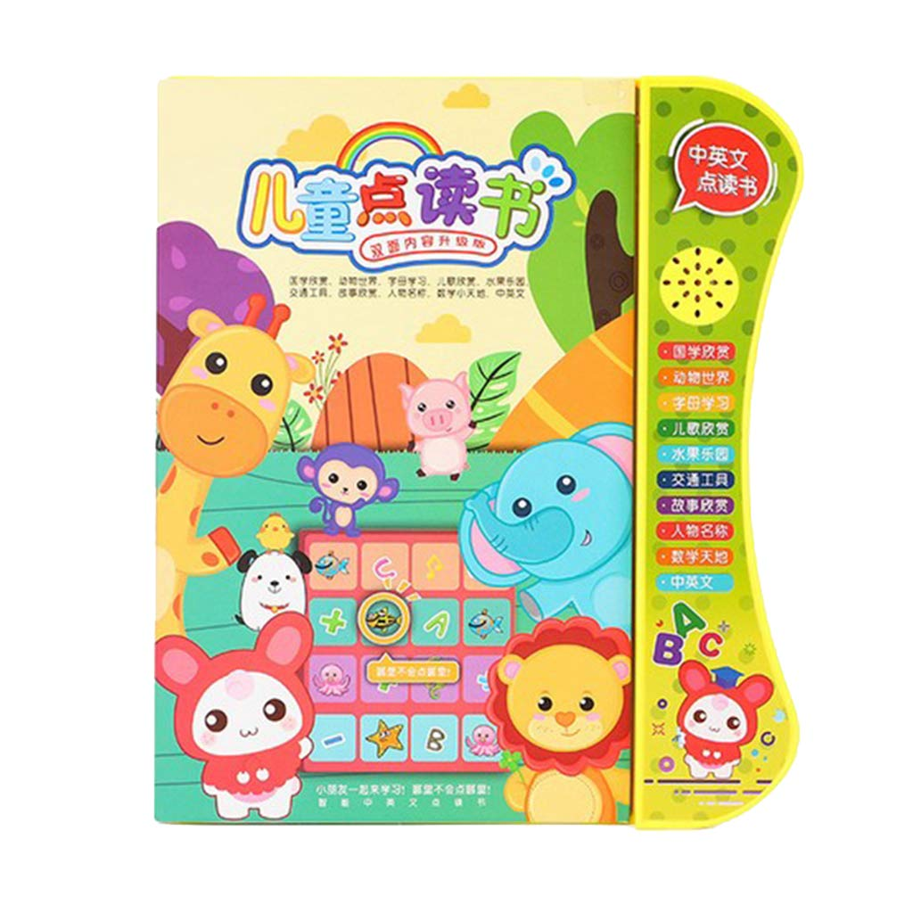 Perfeclan Chinesische und Englische Zweisprachige Lernspielzeug Kinder Lesemaschine Entwicklungsspielzeug