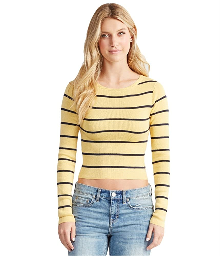 Aeropostale Womens Striped Pullover Sweater