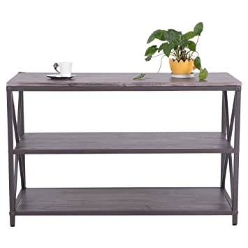 masterpanel 3 shelf tv stand center media console table storage furnituree tp3244