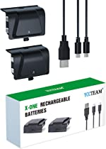 Battery Pack for Xbox One Rechargeable, YCCTEAM Controller Charger for Xbox