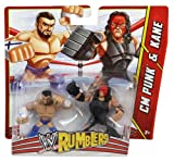WWE Rumblers CM Punk and Kane Action Figure, 2-Pack