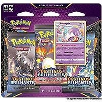 Triple Pack Pokémon Polteageist Destinos Brilhantes