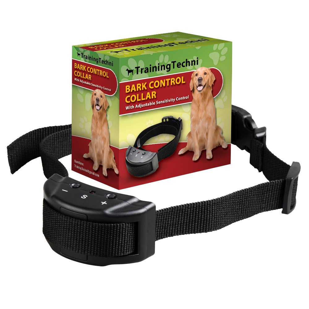Dog No Bark Collar for Bark Control with 7 Levels Adjustable Sensitivity Cont