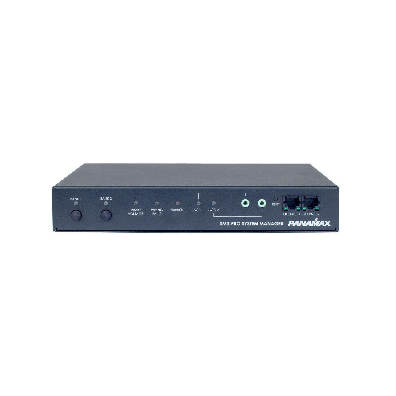 Panamax SM3-PRO | BlueBOLT Power System Manager 3 Outlets AVM RJ45 Jacks