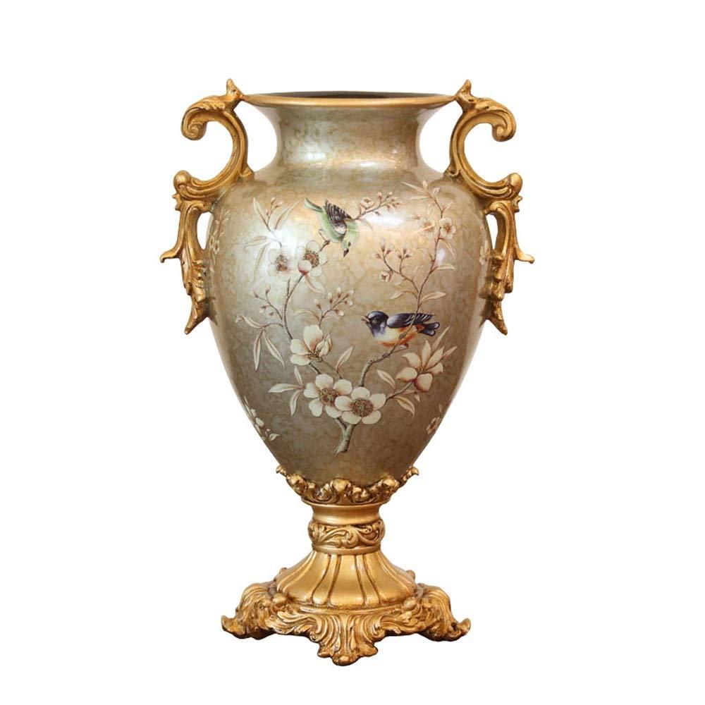 樹脂花瓶用花緑植物結婚式植木鉢装飾ホームオフィスデスク花瓶花バスケットフロア花瓶良い材料 B07RHN62GT