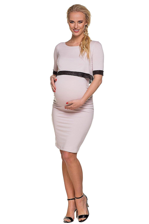 Vestito premaman /& allattamento Jackie Abbigliamento Premaman MY TUMMY /®/©/™ Abiti eleganti di maternit/à donne incinte