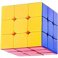 MysticPlay 3X3X3 High Speed Rubik Stickerless Magic Puzzle Cube
