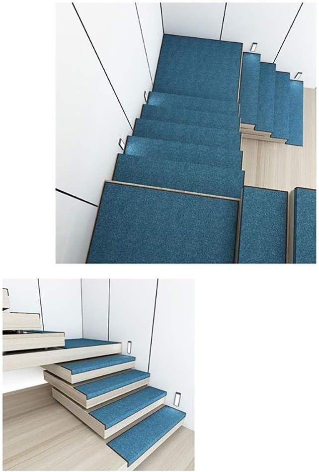 Chihen Alfombra Autoadhesiva para Escaleras Alfombrillas Simples Alfombra De La Escalera Almohadillas Cuadradas Antideslizantes Azul 1/5/10/15 Piezas Step Mats (Color : Blue(85x30x3cm), Size : 1pc): Amazon.es: Hogar