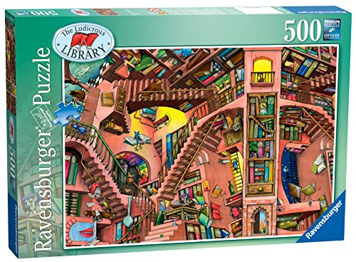 Ravensburger The Ludicrous Library Jigsaw Puzzle