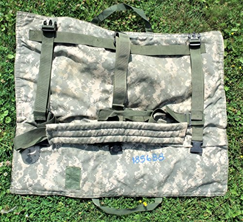 Saw M249 (US Army Military BULLDOG Digital Camouflage Camo ACU M240B/ M249 SAW Spare BARREL Rifle Gun Weapon Bag Carrier with Sling for Shooting Hunting Paintball by US Government GI USGI Genuine Issue)