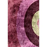 Printed Photography Background New Circle Design Modern Titanium Cloth TC1067 10'x20' Ft (120''x240'') Backdrop Better Then Muslin or Canvas