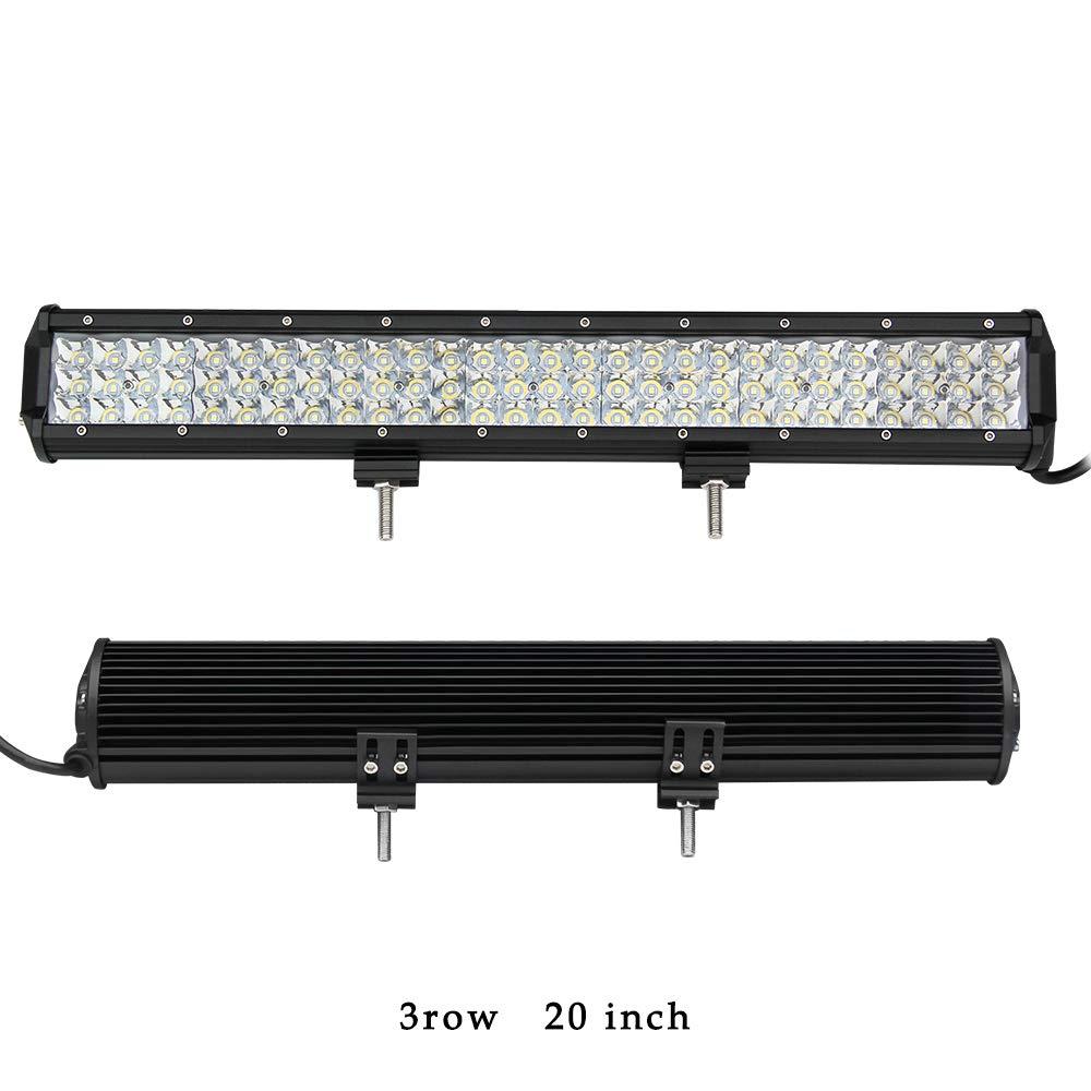 LED-Lichtleiste, 50,8 cm, Spot-Balken, 252 W, 37800 lm, Nebelscheinwerfer, Sportlicht, fü r Auto, Offroad, Traktor, ATV, UTV, SUV, Colight