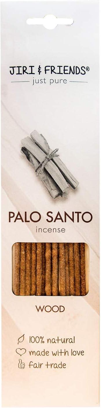 Palo Santo - Varillas de incienso (madera, 15 unidades, 100% natural, palo santo y comercio justo)