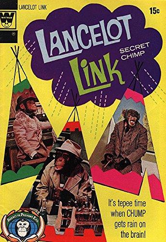 Lancelot Link, Secret Chimp (1971 series) #6 WHITMAN