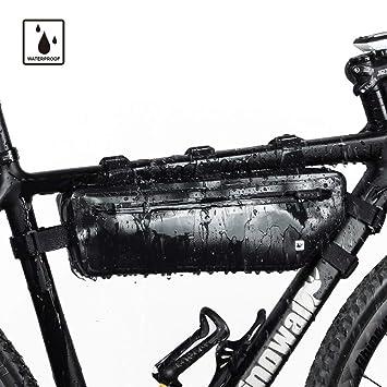 Selighting Bolsa Bicicleta Bolsa Triángulo Bici Impermeable Bolsa Tubo Bicicleta Bolsas Manillar de Bicicleta Montaña Triangular del Bolso de TopTube ...