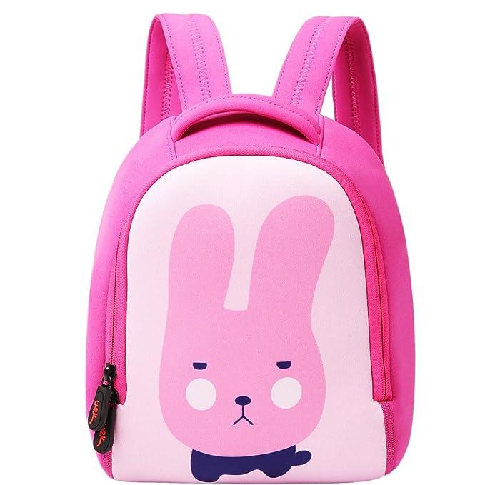 79fd662c0cb3 UEK Animal Lttle Kid Cute Zoo Backpack for School Children UEKzoo bunny  pink-L