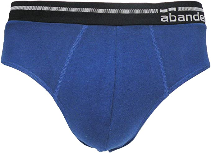 Abanderado Slip cintura extra suave, Hombre, Azul (Tamaño del fabricante:S/44): Amazon.es: Ropa y accesorios