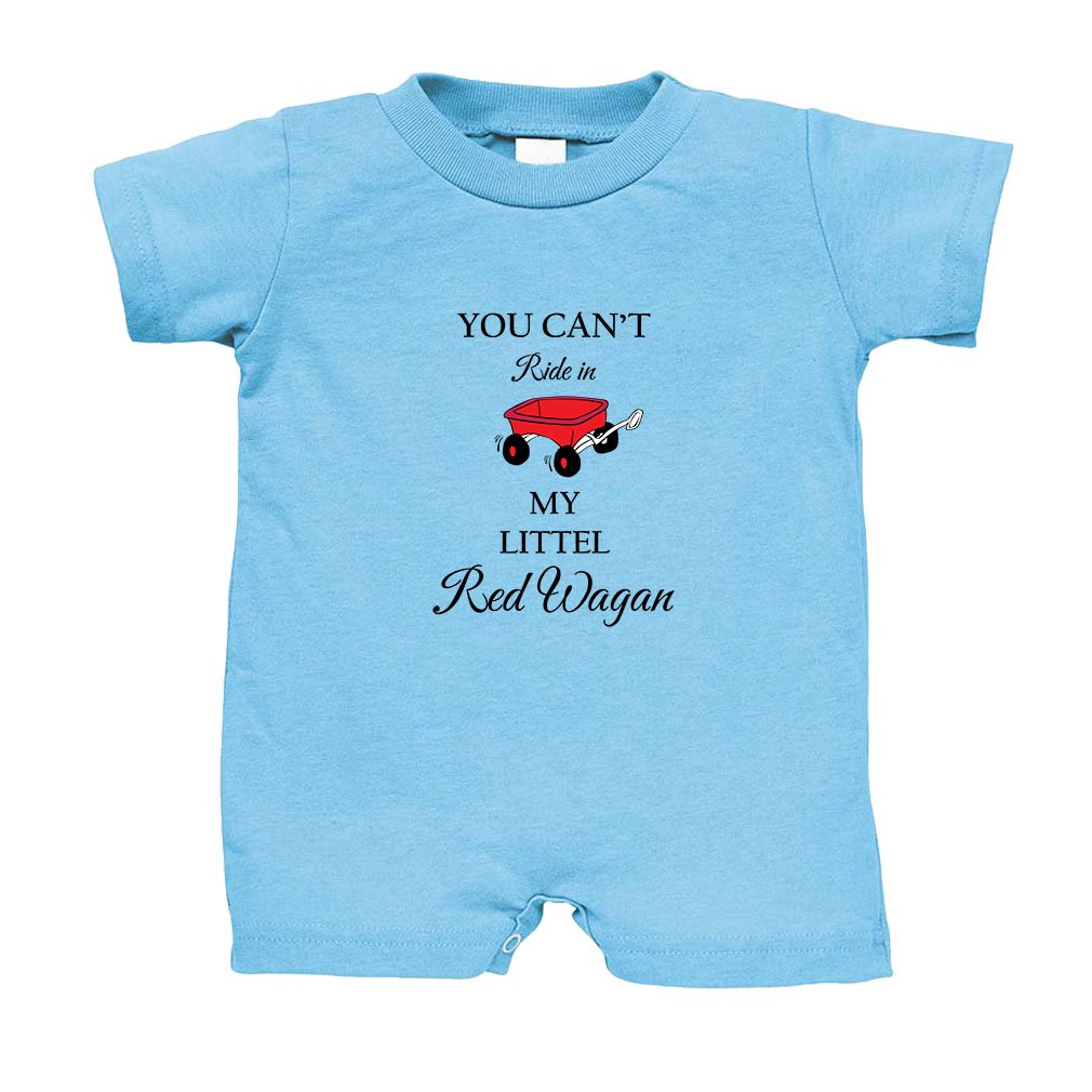 46787a05187 You Can t Ride in My Little Red Wagon Cotton Infant Baby Jersey Tee T