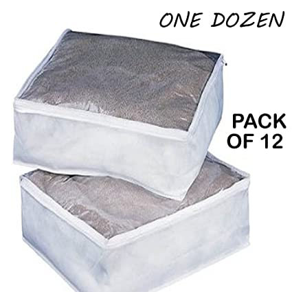 Elegant 1 Dozen Clear King Size Comforter Storage Bags 12 Bag Per Order