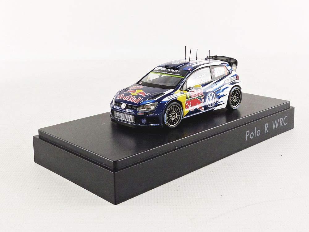 Volkswagen 6 ° C1099300 ° C Polo R WRC Mikkelsen/Floene, modellino Scala 1:43 Volkswagen AG 6C1099300C