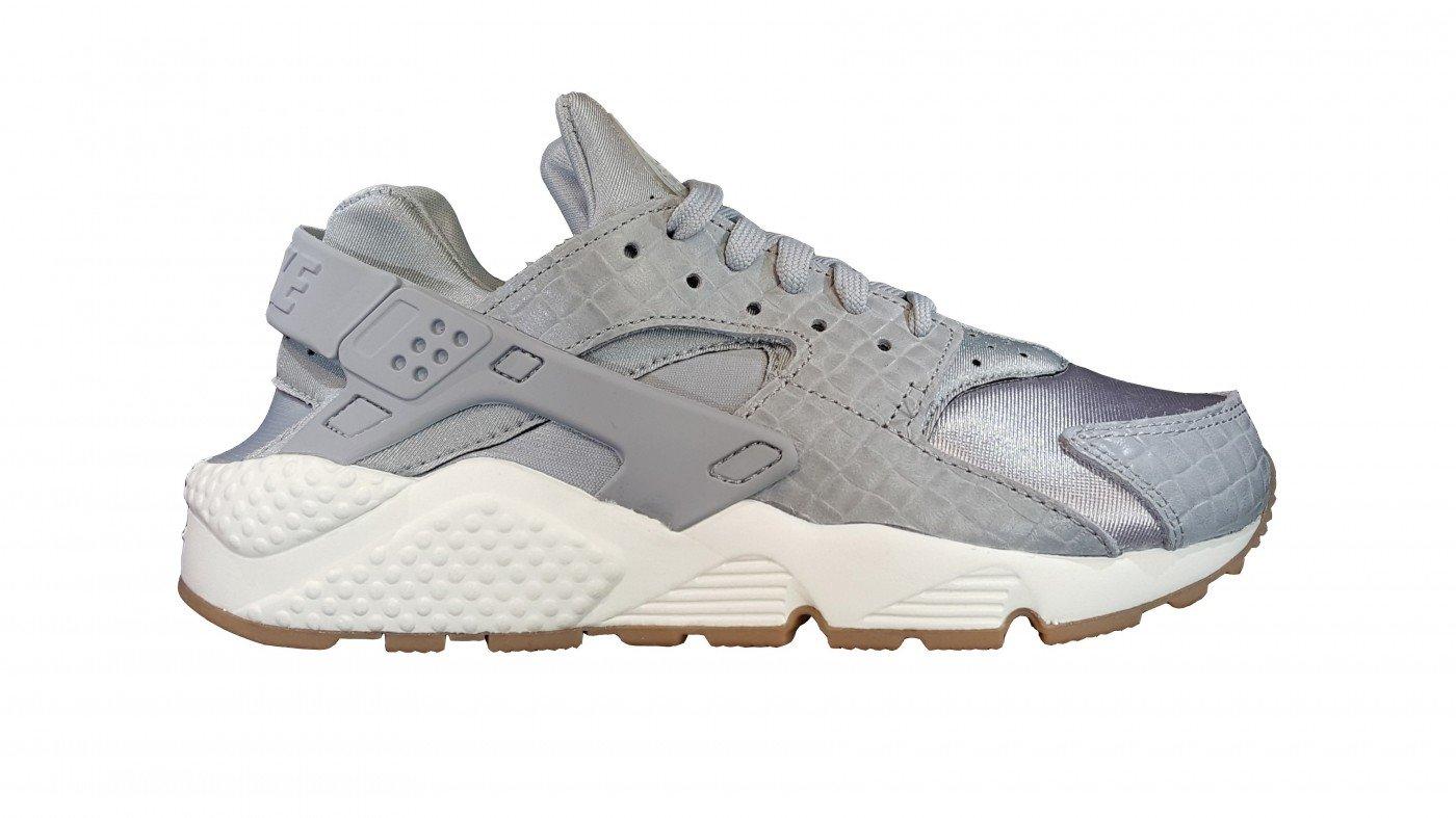 3b656159dc66 Galleon - NIKE WMNS Air Huarache Run Premium Women Lifestyle Sneakers New Wolf  Grey - 6.5